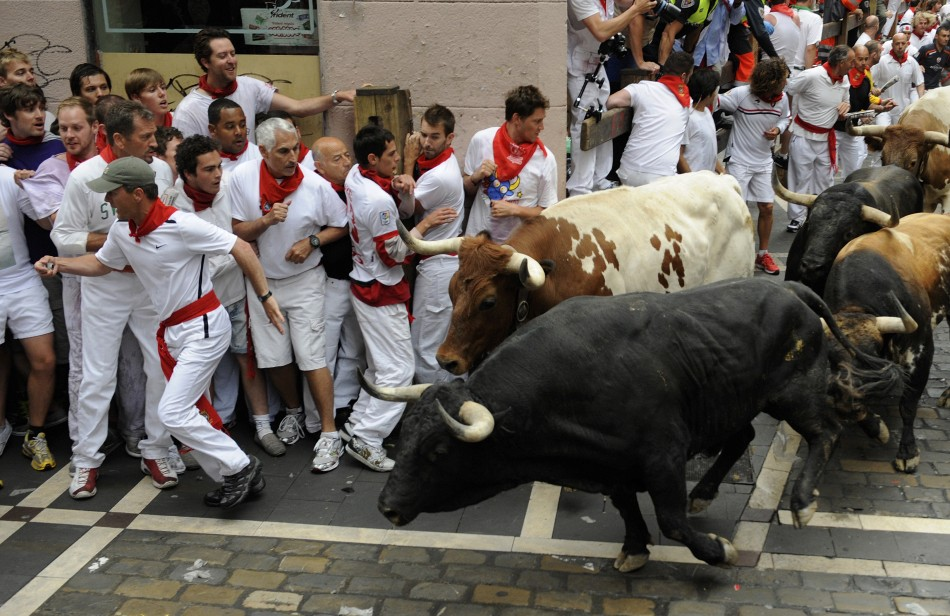Tips on running of the Bulls in Pamplona | Linguaschools.com blog